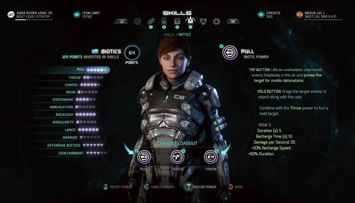 Official Gameplay Series #2 - Characters - Mass Effect Andromeda News