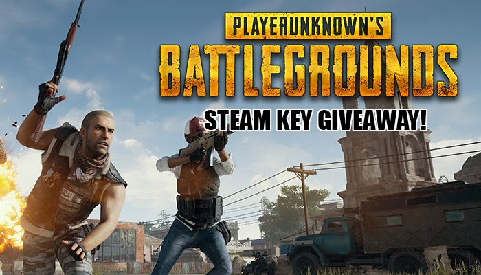 PlayerUnkown's Battlegrounds Steam Key Giveaway!