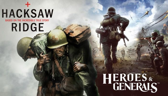Reto-Moto Partners With 'Hacksaw Ridge' For Promotion - Heroes & Generals News