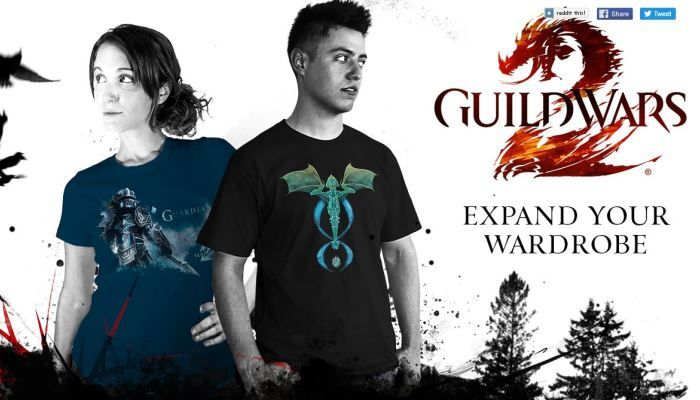 ArenaNet Partners with WeLoveFine for Fan Merchandise - Guild Wars 2 - MMORPG.com