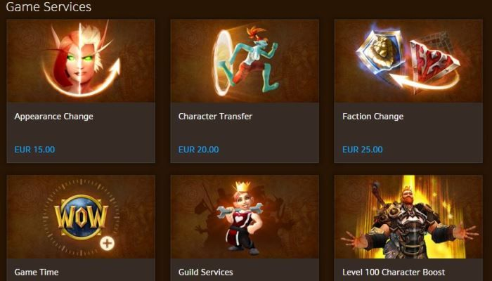 EU WoW Service & Shop Prices Getting a Steep Increase - World of Warcraft News
