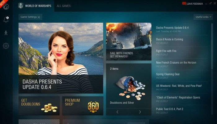 Wargaming Unleashes the Game Center App - World of Warships News