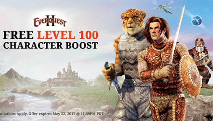 Free Level 100 Character Boost Promotion to End Soon - EverQuest II News