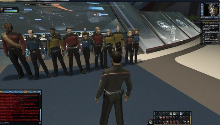 Player Bumps Into NPCs from ST: TNG  - Star Trek Online News