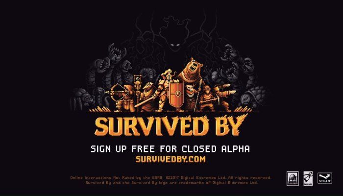 Survived By - an Roguelite Permadeath Retro MMO
