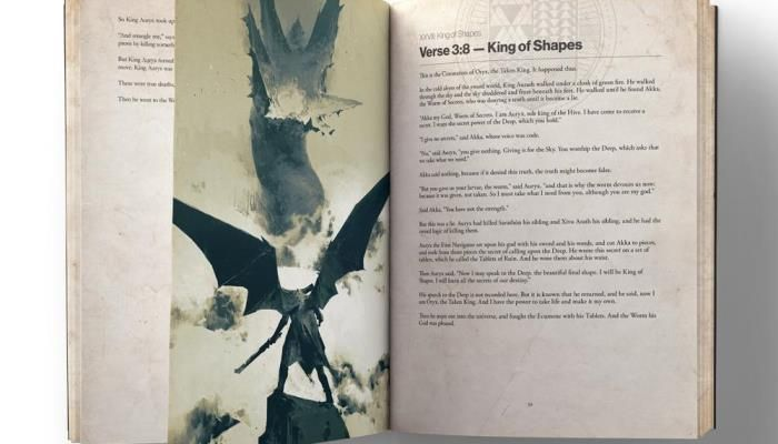 Destiny Grimoire Anthology Book Puts the Lore at Players' Fingertips