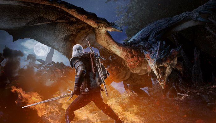 Monster Hunter World Meets The Witcher in February