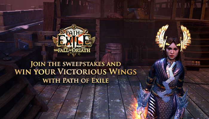 Path of Exile Victorious Wings Helmet Sweepstakes! - Path of Exile News