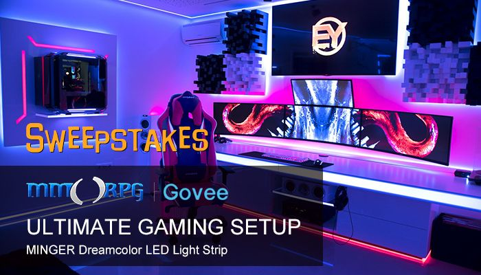 brand new 994b2 cde19 Govee Minger Dreamcolor LED Sweepstakes! (US Only) - MMORPG.com