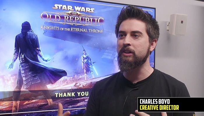 Knights of the Eternal Throne Interview with Charles Boyd - Star Wars: The Old Republic News