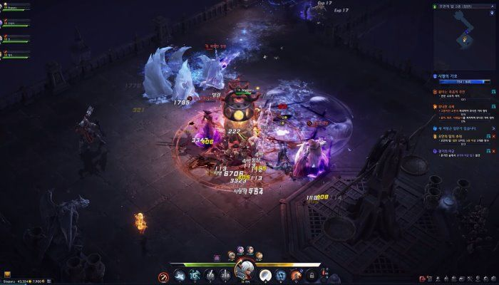 Multiple Character Gameplay - Eternal Team System - Tower 2-5 - Lineage Eternal: Twilight Resistance - MMORPG.com