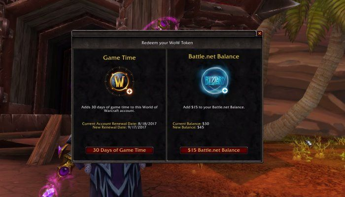 WoW Tokens for Subscription Time Or BattleNet Balance - MMORPG com