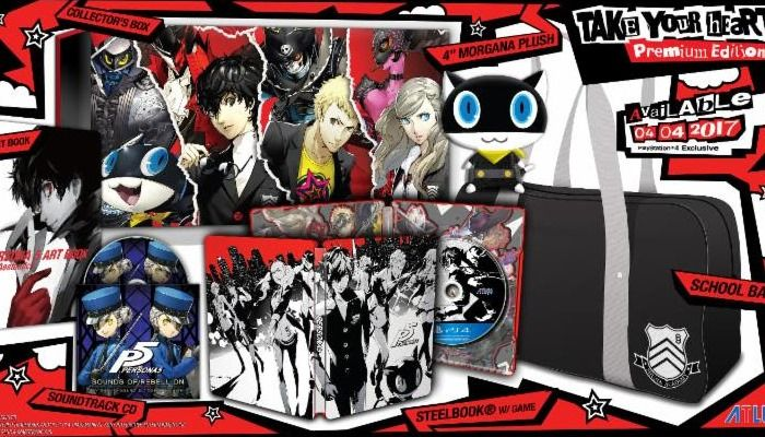 Take Your Heart Premium Edition Unboxing - Persona 5 News