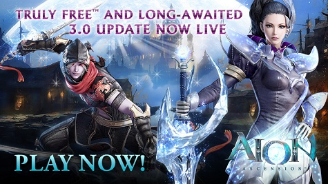 Aion free to play ;)  Aion3.0