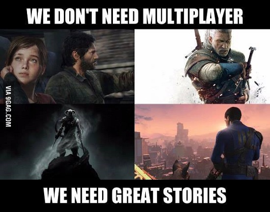 The Daily Quest: Multiplayer or Great Stories
