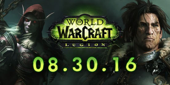 Legion Launching on August 30th