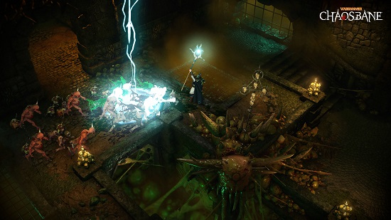 Action RPG Warhammer: Chaosbane announced for consoles, PC