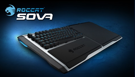 Roccat sova takes the keyboard to the living room mmorpg for Living room keyboard and mouse