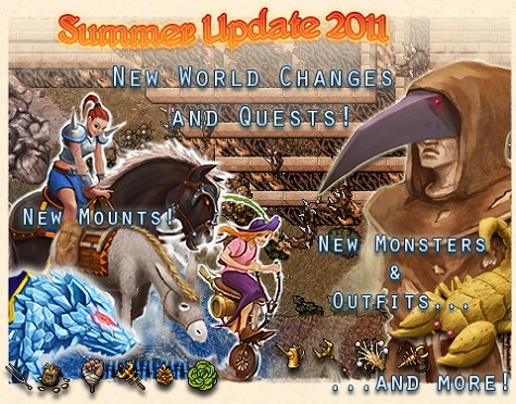 Summer update introduces world quests tibia for Door 999 tibia