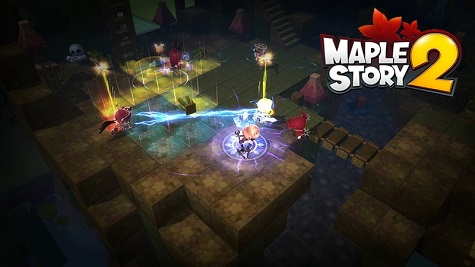 MapleStory 2 - Three PvP Forms for CBT1