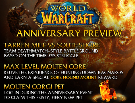New Events to Celebrate WoW