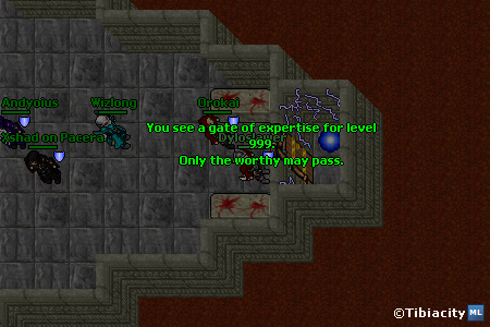 First ever level 999 player to claim history making find for Door 999 tibia