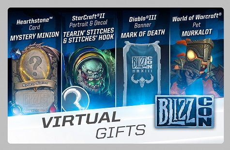 Blizzcon Swag Detailed