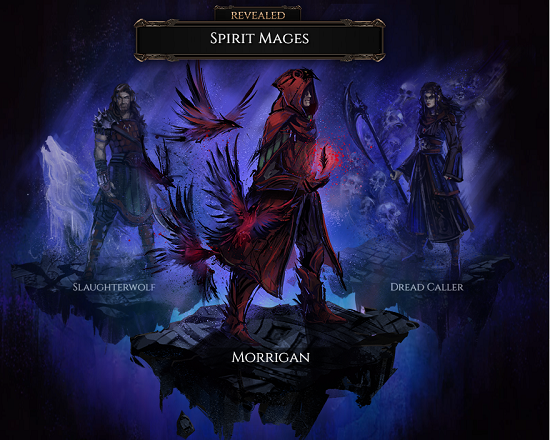 Latest Class Revealed As Spirit Mages