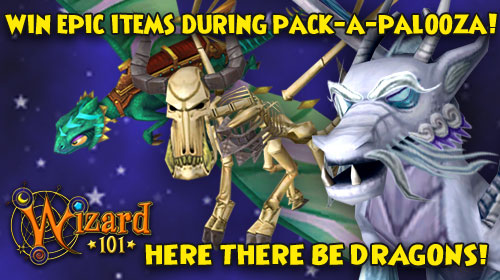 Wizard101 Pack A Palooza Dragon Pack Contest Mmorpgcom Forums