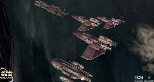Star Wars Galaxies Stronghold Of The Lok Revenants Game Update Now