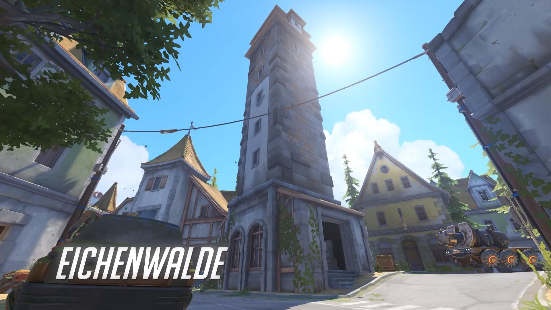 Overwatch's New Map, Eichenwalde, coming in September