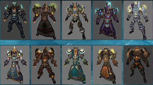 World of Warcraft : Arena Season 8 Armor Preview