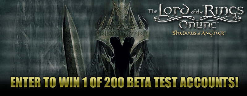 Lord of the Rings Online Beta Giveaway