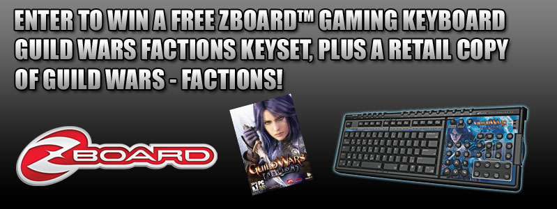 Zboard Guild Wars Factions Giveaway
