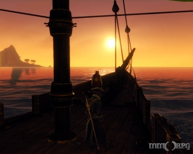 Ship Sunset Best MMO