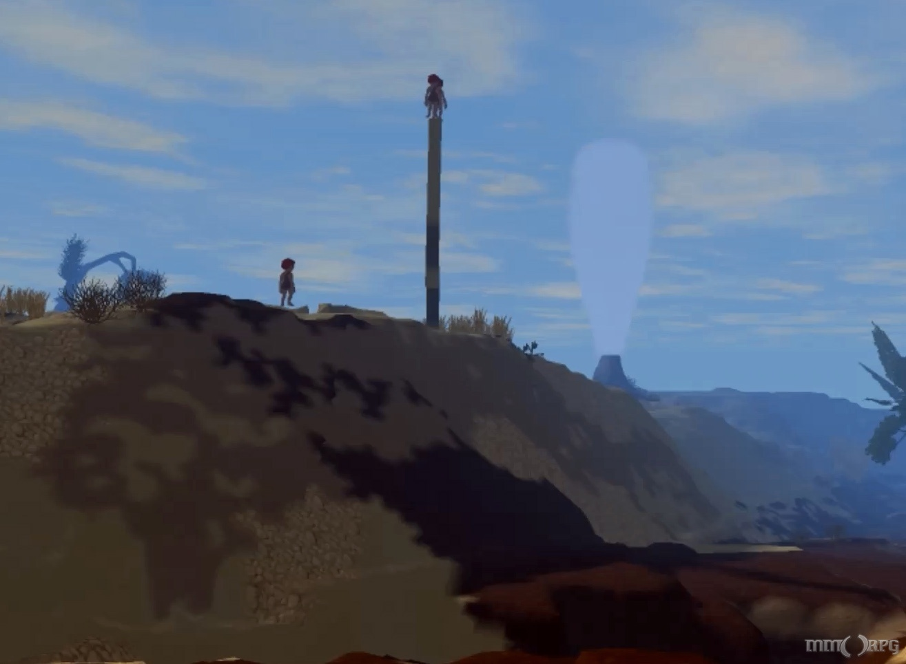 TUG is a procedurally generated open world sandbox designed to respond to the player.