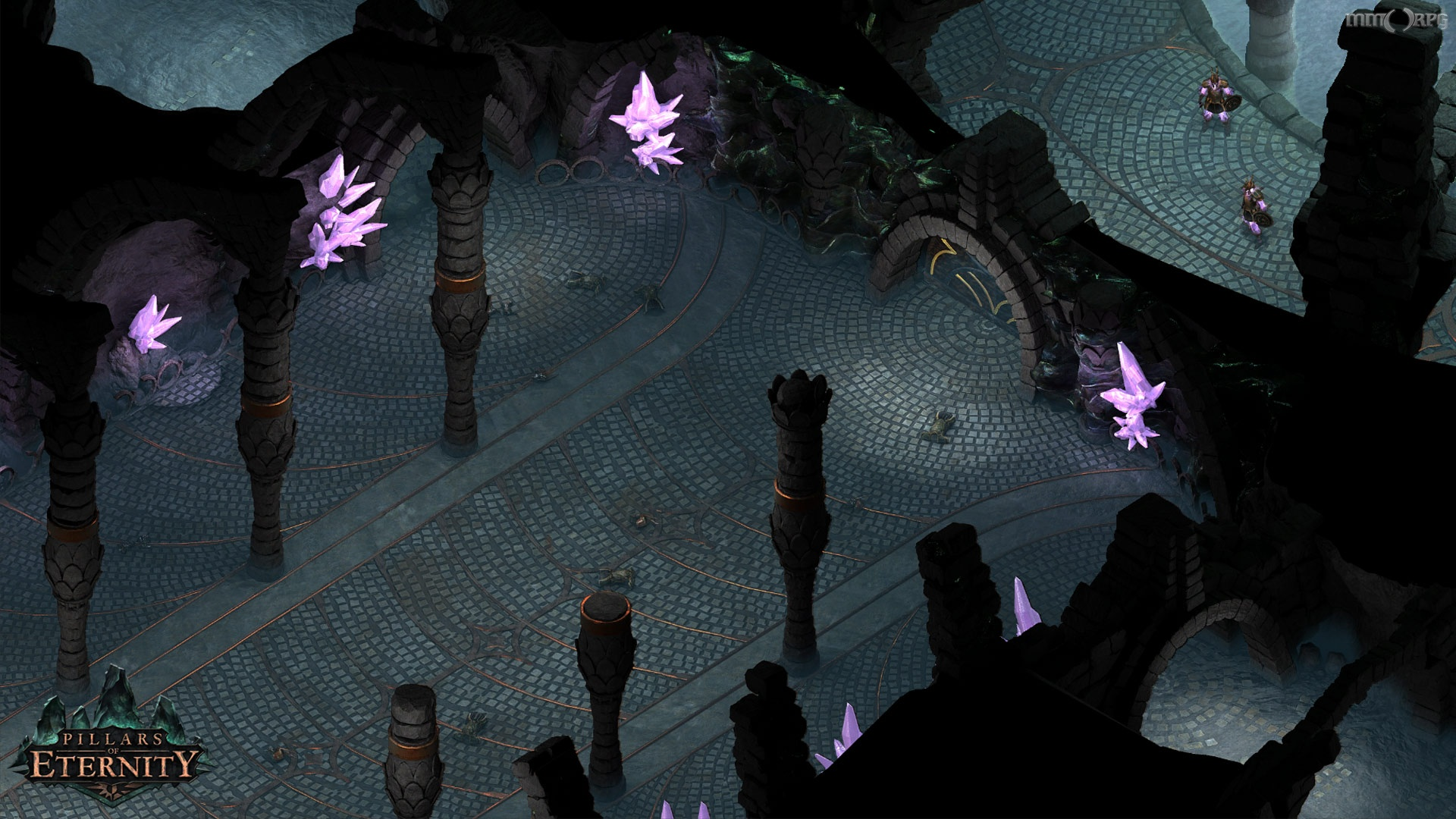 Pillars of Eternity is inspired by old-school RPGs and is a new IP.