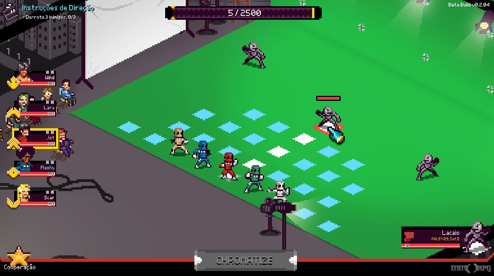 Chroma Squad is an RPG inspired by Power Rangers and other sentai TV shows. You take on an indie studio and create your own TV show.