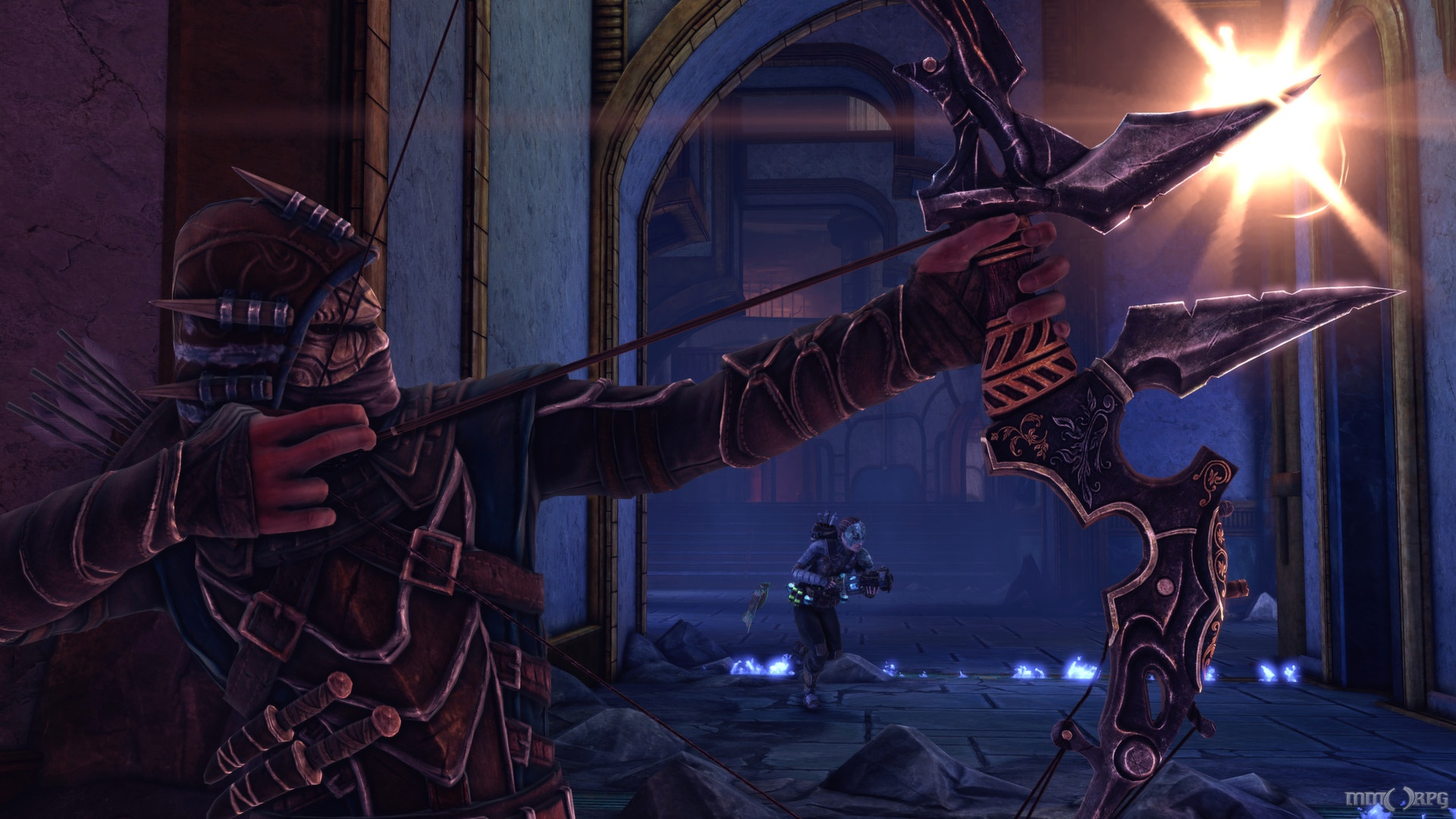 Nosgoth is a competitive, third-person action game set in the Legacy of Kain universe where playes play both humans and vampires.