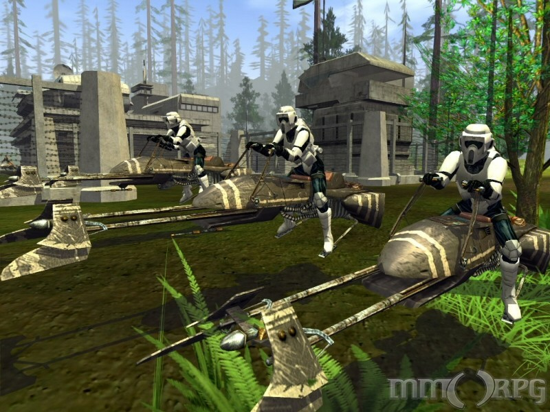 Star Wars Galaxies (pre CU), World of Warcraft, EvE Online,