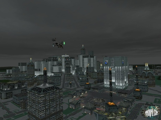 E-10 hovering over Deois