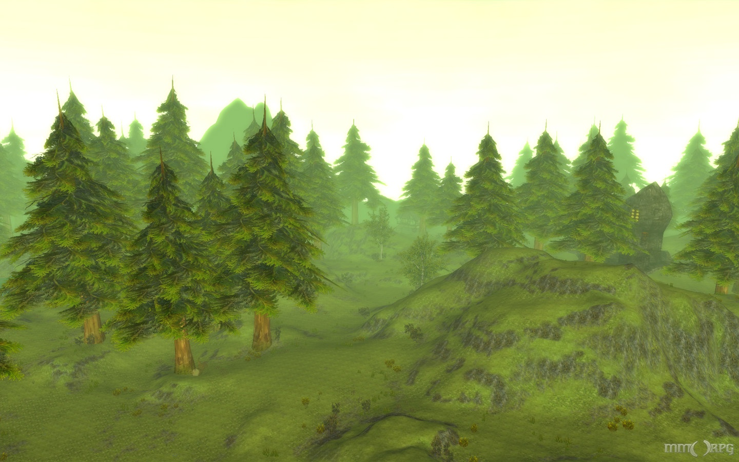 Silverfall View From Atop a Mountain