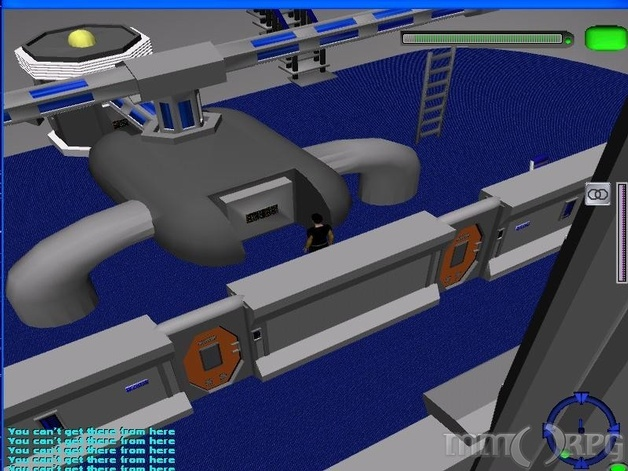 Engineering area of a Manning Class Frigate.