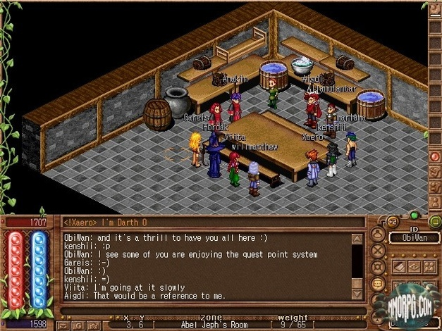 A Guild Meeting in the town of Abel.