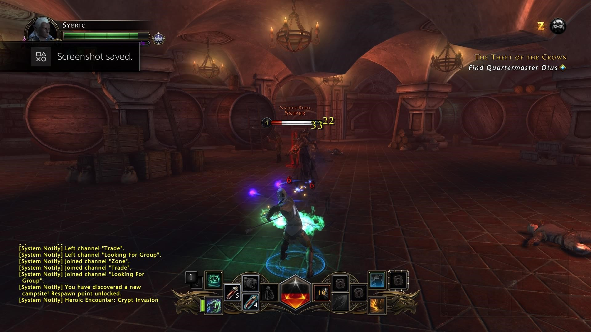 Neverwinter's combat translates perfectly to PS4 controls
