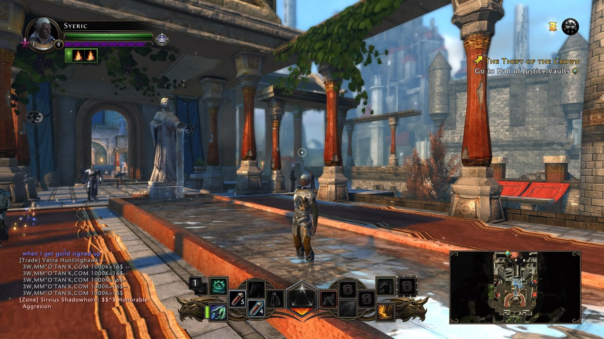 Neverwinter's visual fidelity is scaled back for PS4 over PC