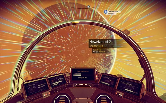 In No Man's Sky, the first time you go into space, your jaw will drop.