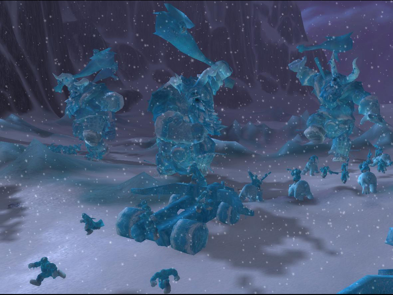 Wrath of the Lich King Screen