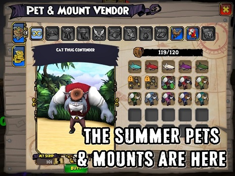 Summer Has Arrived in Pirate101 With New Items - MMORPG com