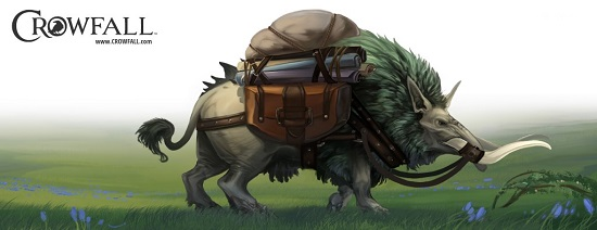 Crowfall will have wild boars to carry stuff.